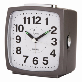 Cetronics Clock Grau modernes Design