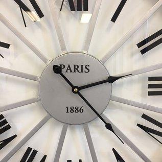 NiceTime Wandklok PARIS Industrieel Design