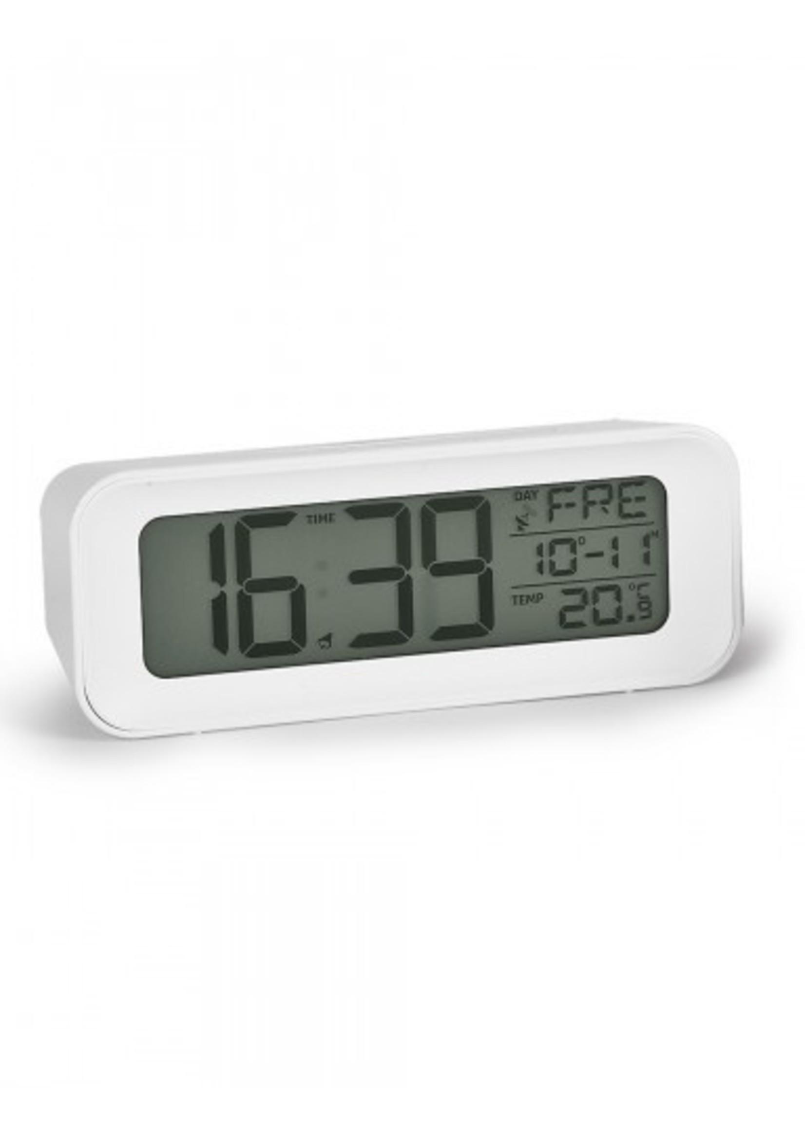 Atlanta LED wekker met temperatuur en datum