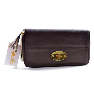 Klokkendiscounter Dames portemonnee Black