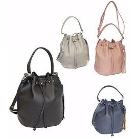 Klokkendiscounter Damen-Handtasche Rimini Design ROSA