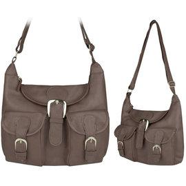Klokkendiscounter Elysee Damen-Handtasche Design Brown