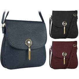 Klokkendiscounter Damen-Handtasche Design Schwarze Montpellier