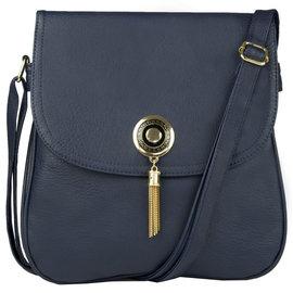 Klokkendiscounter Damen-Handtasche Design Blau Montpellier