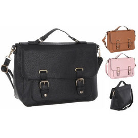 Klokkendiscounter Damen-Handtasche Design Schwarze TORINO
