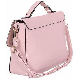 Klokkendiscounter Damen-Handtasche TORINO Design ROSA