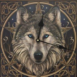 NiceTime Wanduhr Wolf