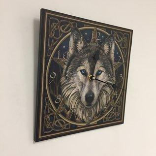 NiceTime Wandklok Wolf