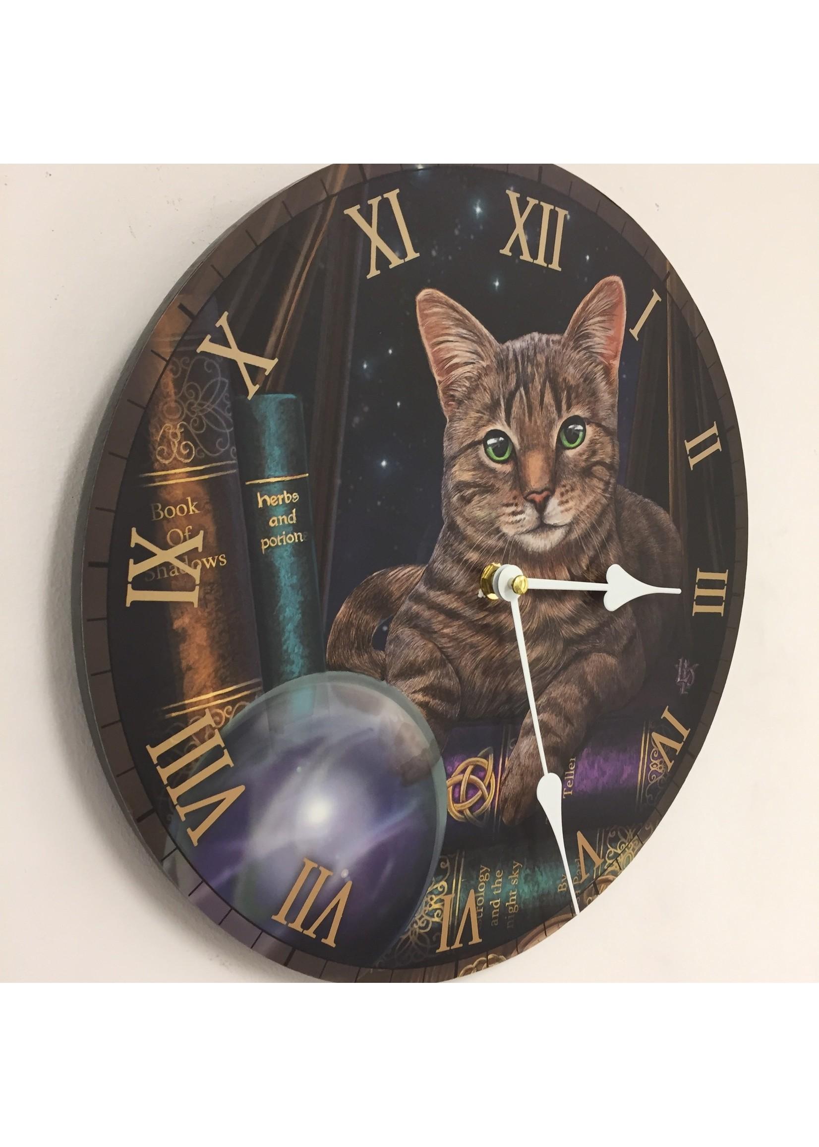 NiceTime Wandklok voor kinderen met kat