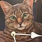 NiceTime Wanduhr voor kinderen met kat