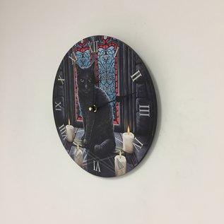 NiceTime Wandklok voor kinderen met zwarte kat
