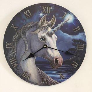 NiceTime Wandklok Unicorn voor kinderen