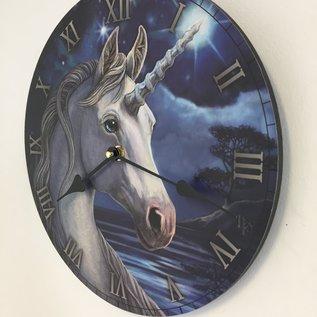 NiceTime Wanduhr Unicorn voor kinderen