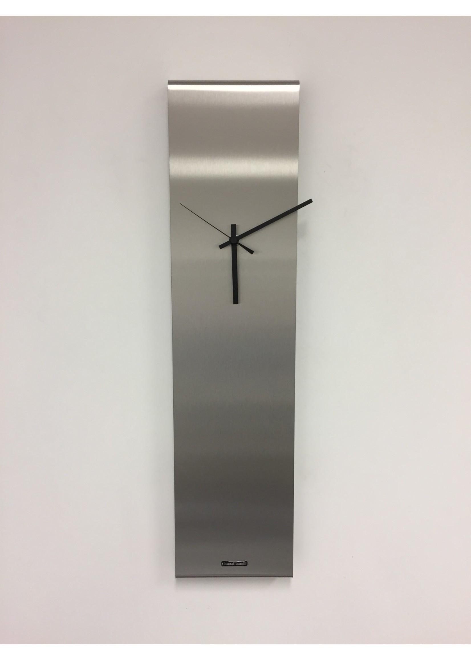 Klokkendiscounter Wandklok NEW YORK  SKYSCRAPER Silver