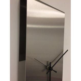 Klokkendiscounter Wanduhr NEW YORK  SKYSCRAPER Silver