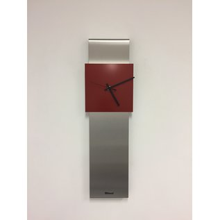 Klokkendiscounter Wanduhr NEW YORK  SKYSCRAPER RED