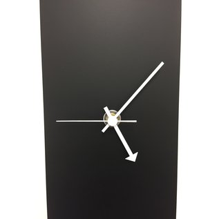 Klokkendiscounter Wanduhr Black-Line