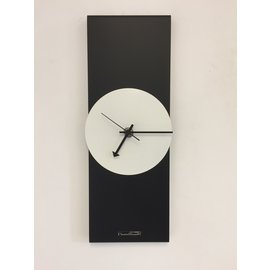 Klokkendiscounter Wanduhr-Line Black & White