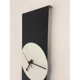 ChantalBrandO Wandklok Black-Line & White