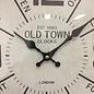 NiceTime Wandklok Old Town Industrieel Design