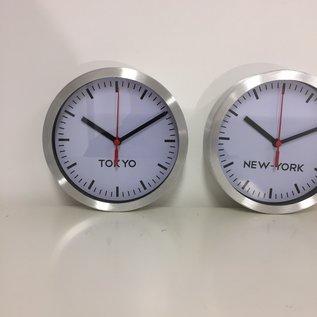 NiceTime Wandklok SET 3 STUKS New York - Parijs - Tokio