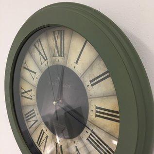 NiceTime Wandklok Roulette Groen 36