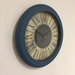 NiceTime Wanduhr CASINO BLUE