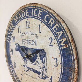 Saramax Wandklok Ice Cream Vintage retro design
