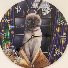 Saramax Wanduhr MAGIC CAT fuhr Kinder