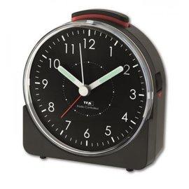 TFA Schwarz Uhr-Entwurf