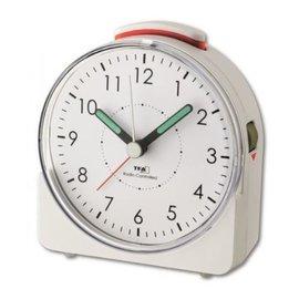 Wekker Design model in wit