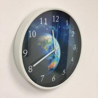Klokkendiscounter Wandklok The Earth modern design