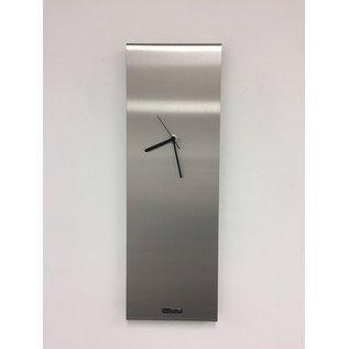 Klokkendiscounter Wanduhr LaBrando zilver modern design