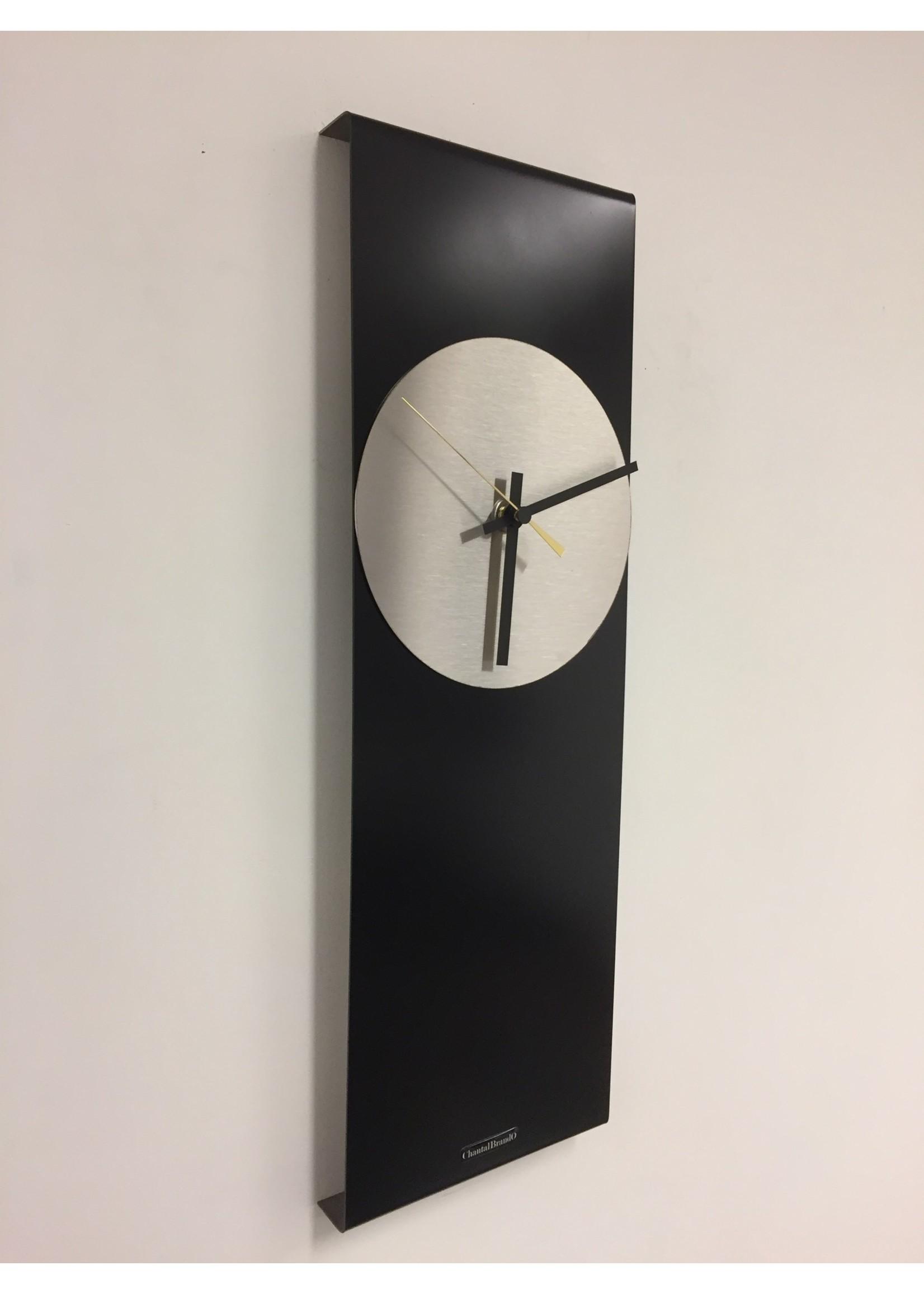 Klokkendiscounter Wandklok LaBrand Export Design Black & Gold Pointer