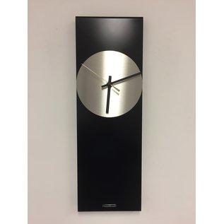 ChantalBrandO Wandklok LaBrand Export Design Black & Gold Pointer