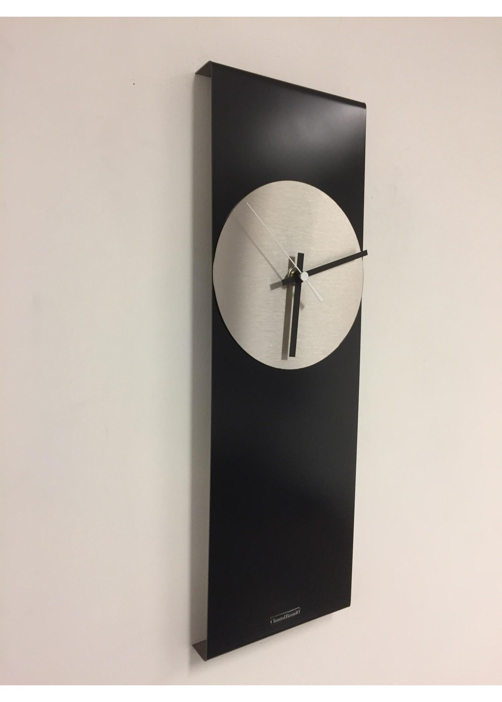 Klokkendiscounter Wandklok LaBrand Export Design Black & White Pointer
