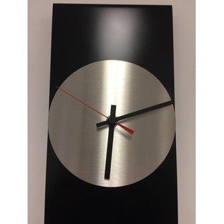 Klokkendiscounter Wanduhr LaBrand Export Design Black & Red Pointer