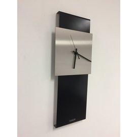 Klokkendiscounter Wanduhr LaBrand Export Design Schwarzes Modernes Design
