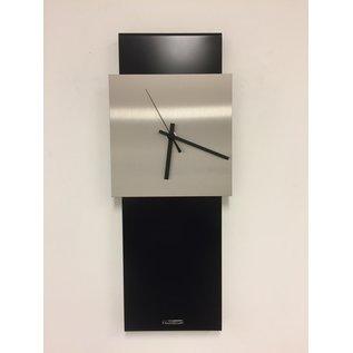 Klokkendiscounter Wandklok LaBrand Export Design Black Modern Design