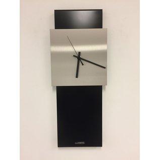 Klokkendiscounter Wanduhr LaBrand Export Design Black Modern Design