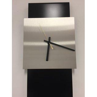 Klokkendiscounter Wanduhr LaBrand Export Design Black & Gold Pointer modern design
