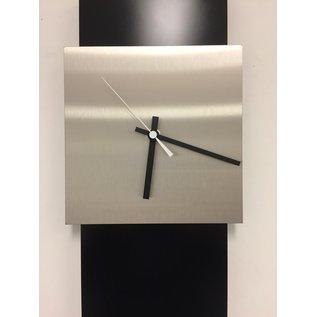 Klokkendiscounter Wanduhr LaBrand Export Design Black & White Pointer Modern Design