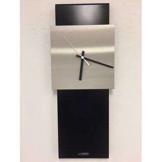 ChantalBrandO Wandklok LaBrand Export Design Black & White Pointer Modern Design