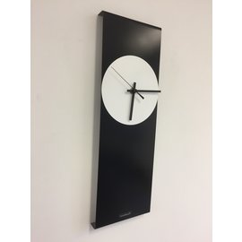 Klokkendiscounter Wanduhr LaBrand Export Line Black & White Modernes Design