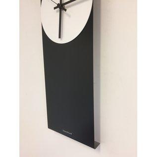 Klokkendiscounter Wanduhr LaBrand Export Line Black & White Modern Design