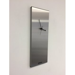 Klokkendiscounter Wanduhr LaBrand Export Silver Modern DUTCH Design