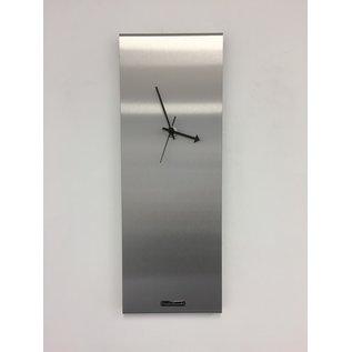 Klokkendiscounter Wandklok LaBrand Export Silver Modern DUTCH Design