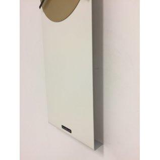 Klokkendiscounter Wandklok LaBrand Export Line White & Gold modern Dutch Design