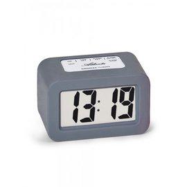 Atlanta Clock CUBE Grau modernes Design