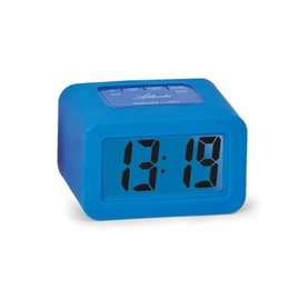 Atlanta Clock CUBE Blau modernes Design